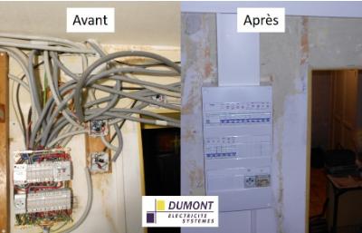 Dumont Électricité Systèmes Installation